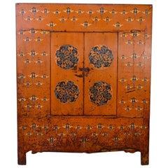 Early 19th Century Tibetan Cabinet