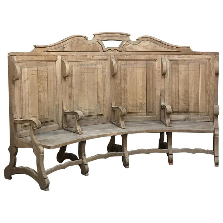 Foyer Benches For Sale : Th century rounded foyer bay bench for sale at stdibs