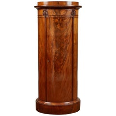 Mid-19th Century Danish Mahogany Pedestal Cabinet