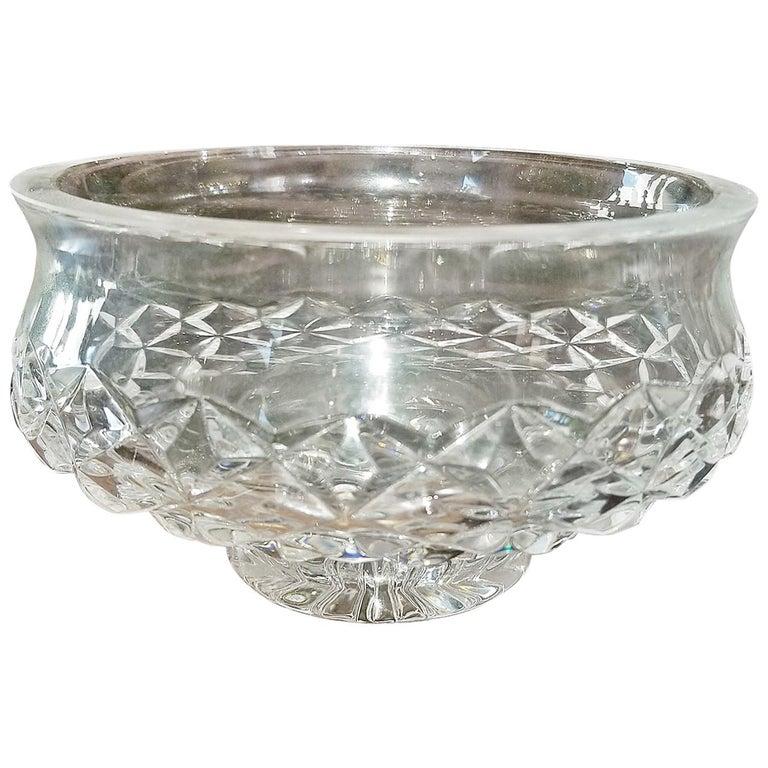 Irish Waterford Crystal Bowl Comeragh Pattern