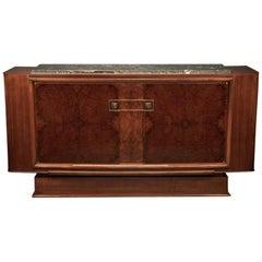 Art Deco French Sideboard in Walnut