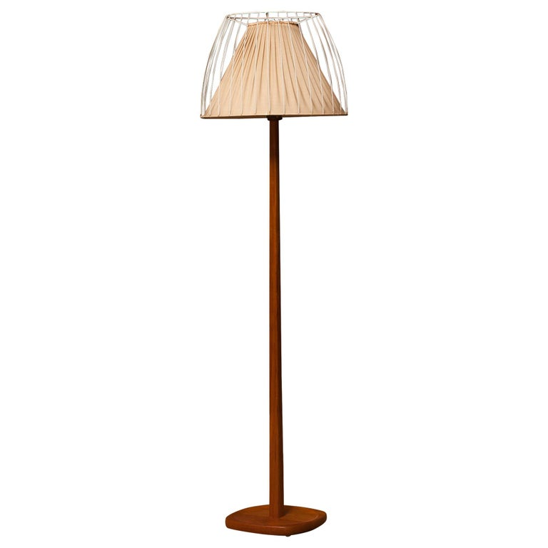 1950s, Teak Floor Lamp by Stilarmatur, Sweden
