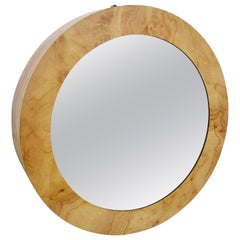 Infinity Lights Round Wall Mirror