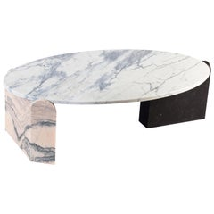 Mua Marble Coffee Table, Contemporary Low Marble Center Table