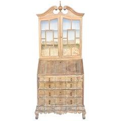 20th Century George III Secretary Bookcase
