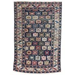 Antique 19th Century Caucasian Chirwan Rug