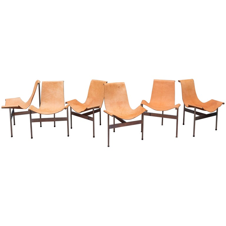 Original Katavalos T-Chairs Model 3LC for Laverne International For Sale