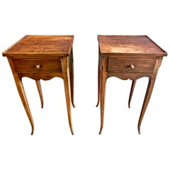Pair of Louis XVI/Directoire Style Petites Commodes or Nightstands