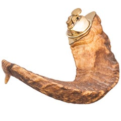 Auböck Horn Lighter, 1950s