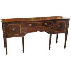Late 19th Century Adams Style Mahogany Sideboard