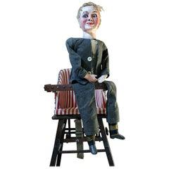 Early 20th Century Ventriloquist's Dummy Herbert Brighton Attributed, circa 1930