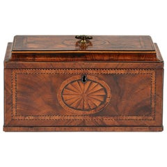 18th Century Chippendale period Tea Caddy or chest