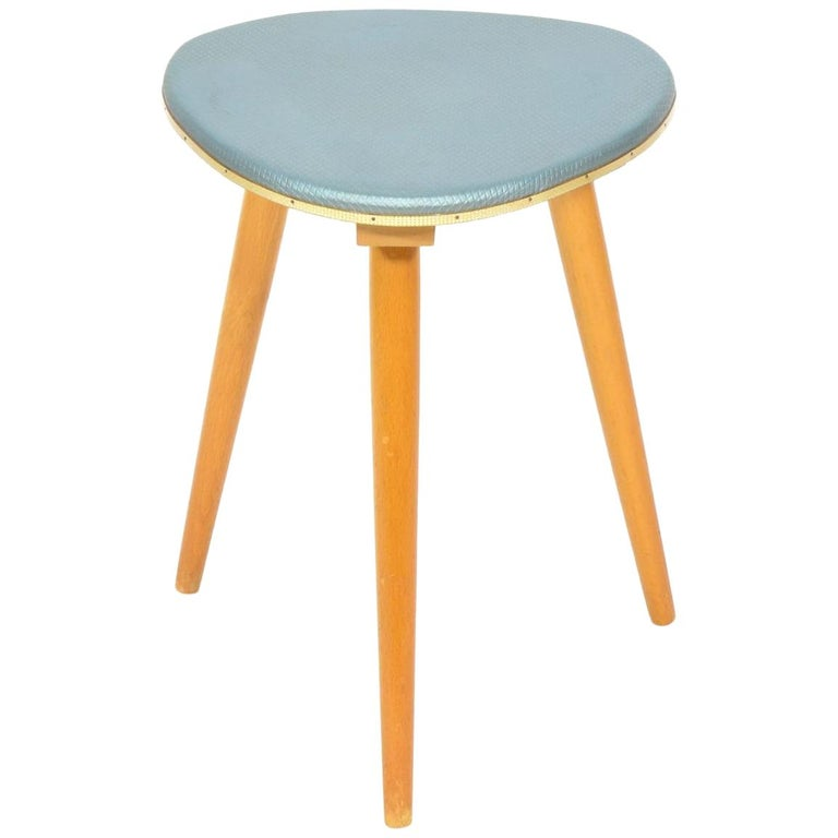 Vintage Tripod Stool from 1960s For Sale