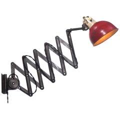 1933 Christian Dell Scissor Work Lights