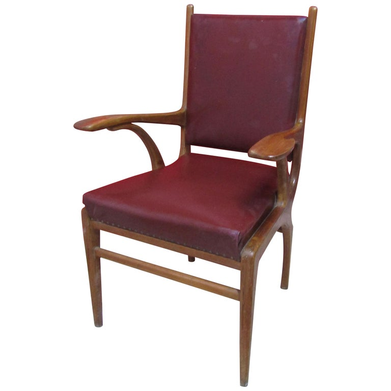 Scandinavian Desk Chair, 1960s