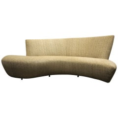 Large Sculptural Bilbao Sofa by Vladimir Kagan