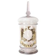 19th Century French Pharmacy Jar