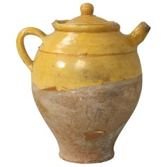 Antique French Lidded Jug