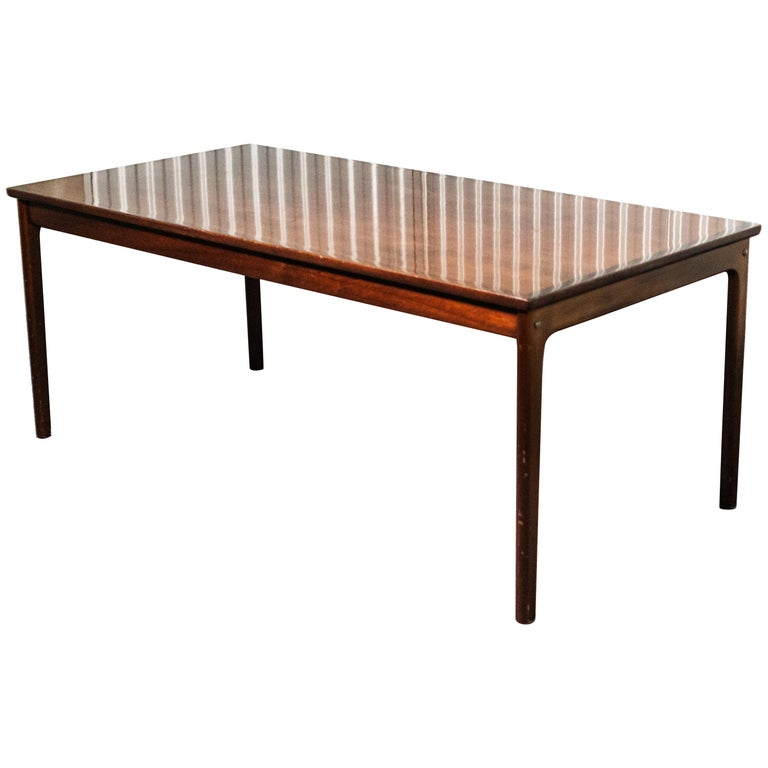 20th Century Ole Wanscher Rosewood Sofa Table