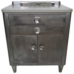 Industrial Metal Dental Cabinet