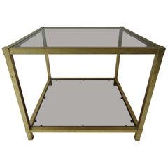 Gilt Metal Table