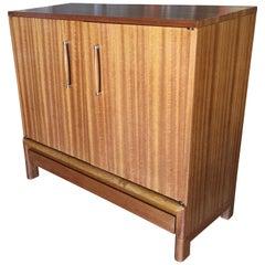 Midcentury Danish Modern Style Oak Sideboard Cabinet