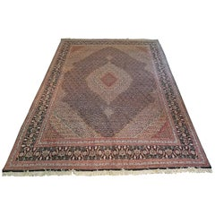 Very Large and Exceptional Persian Tabriz Area Rug