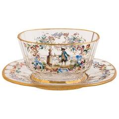Set of Glass Bowls by Lobmeyer, circa 1890