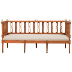 18th Century Swedish Gustavian Sofa