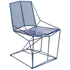 Grelha Steel Chair, Aquarius Chameleon Paint