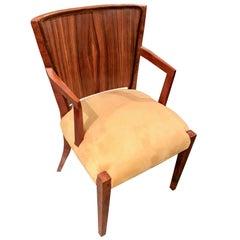 4 Art Deco Macassar Armchairs Unique Restored