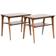 Mid-Century Modern Set of John Van Koert for Drexel Side Tables