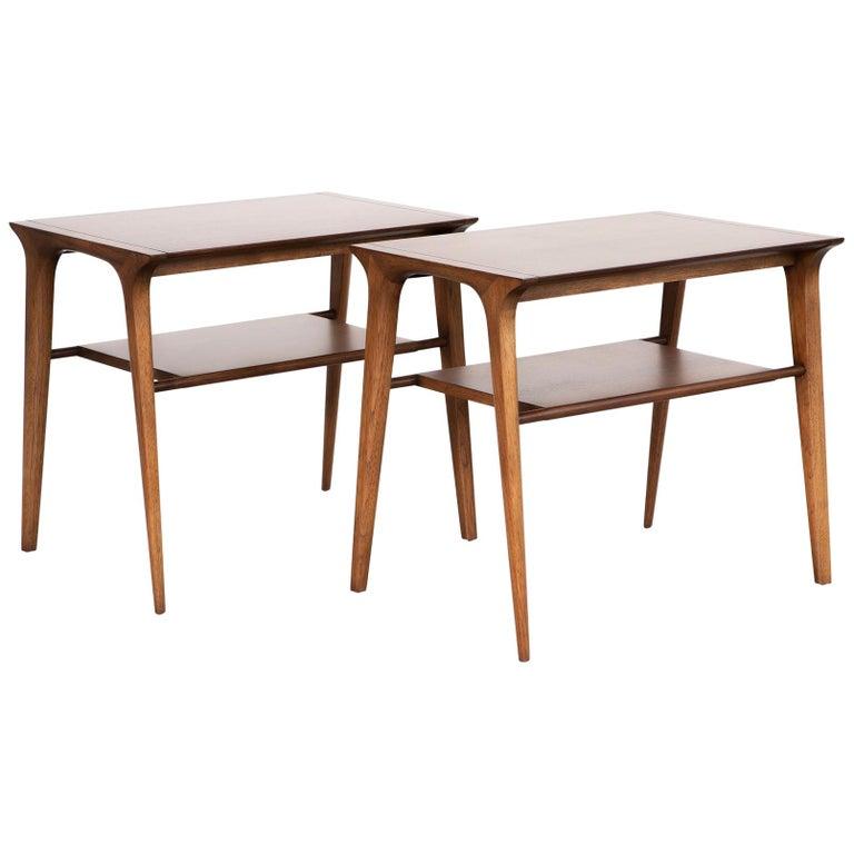 Mid-Century Modern Set of John Van Koert for Drexel Side Tables