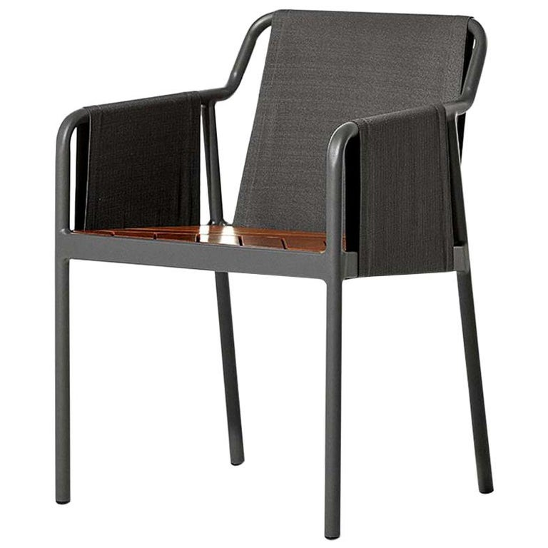 Minimal Style Chairs in Textile, Metal and Solid Wood