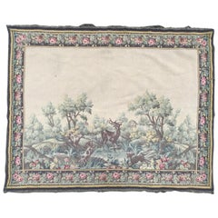 Nice 20th Century French Tapestry Aubusson Style