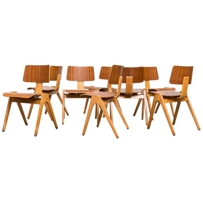 Robin Day Hille 'Hillestak' Stacking Chairs
