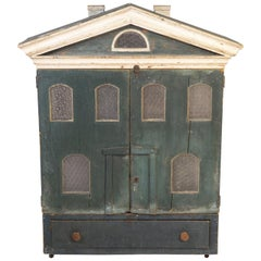Doll House Cabinet, 19th Century