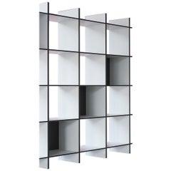 Wiki, Minimalist Modular Freestanding Shelving Unit