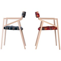 Bretelle, the Colourful Modern Customisable Strap Chair