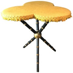 Antique Trefoil  Gyspy Table