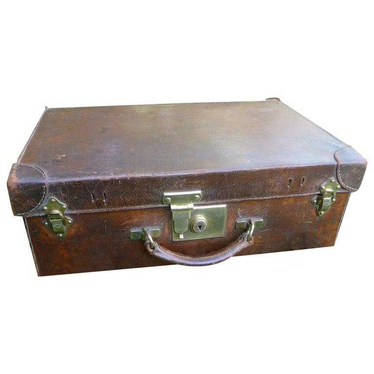 Goyard Leather Suitcase