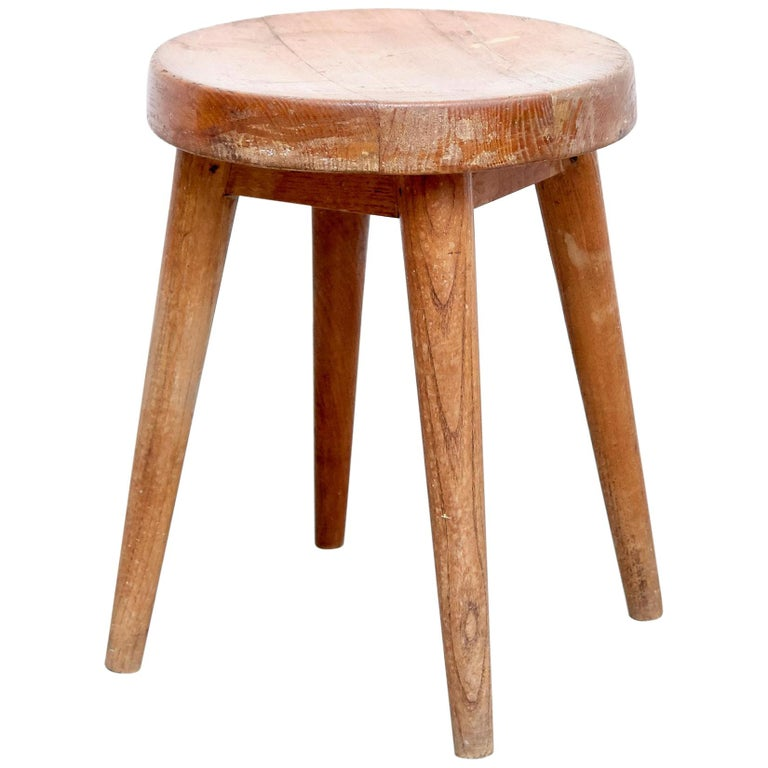 Pierre Jeanneret & Charlotte Perriand Stool