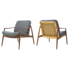 Pair of Lounge Easy Chairs by Hartmut Lohmeyer for Wilkhahn, 1956s