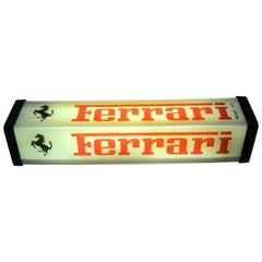 1978 Vintage Original Ferrari Plastic Light Made in Italy