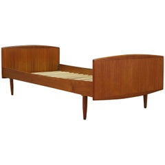 Omann Jun Bed Teak Vintage Danish Design