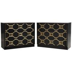 Pair of Original Dorothy Draper Viennese Dressers
