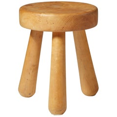 Stool Designed by Ingvar Hildingsson,  Sweden, 1950s