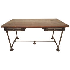 Large Industrial Style Desk