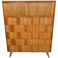 Midcentury Edmund Spence Tall Dresser