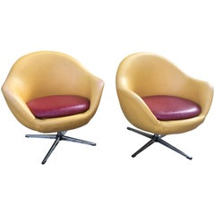 Overman Swivel Chairs